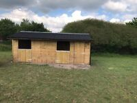 2 Acre paddock with stables in Evercreech