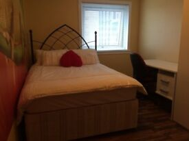 Beautiful, fully furnished room to rent with all bills included sharing with professional lady