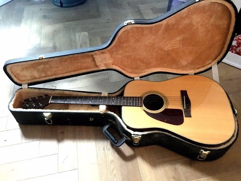Fender acoustic LEFT HANDED