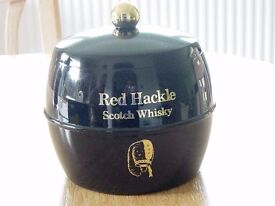 """A RARE """"""""RED HACKLE WHISKY"""""""" ICE BUCKET."""