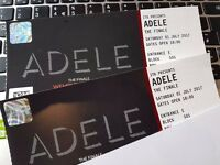 Adele The Finale Tickets x 2 Sat 1st July
