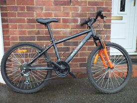 "Boys Mountain Bike Rock Rider 5.2 Jnr 24""wheel 18 speed"