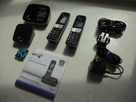 BT Digital Cordless Phones with Answering Machine - £25