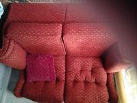 TWO SEATER SETTEE VERY GOOD CONDITION.