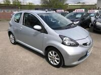 TOYOTA AYGO 1.0 VVTI PLATINUM 3 DOOR 2008 /£20 ROAD TAX /12 MONTHS MOT /2 KEY...