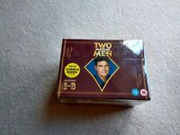 TWO AND A HALF MEN BOXED DVD SET SEASONS 1-8 COMPLETE NEW SEALED