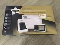 Tommee Tippee digital video, movement and sound monitor