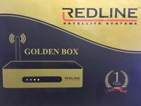 New Redline Golden Box IPTV BOX,More Than 1700 Channel