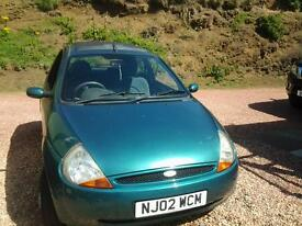 Ford Ka for spares or repair, nice wee runner, 4 good tyres, body work good for year, clean, tidy