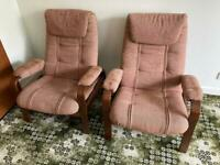 Gorgeous Soderbergs Swedish stressless chairs excellent condition £175 each Redcar
