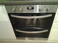 Zanussi built in double, multifunction oven came with my new kitchen, not upto my requirements.