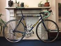 Bianchi Mega PRO Steel Frame Road Racing Bike, Size 55, Campagnolo group set and Mavic wheels