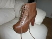 Jeffrey Campbell heeled booties for sale