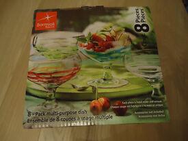 Bormioli Rocco 8 Piece Multi-Purpose Dish 350ml capacity