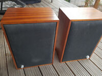 Pair of Mahogany Speakers