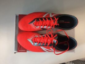 Once Worn New Balance Football Boots, Size 9.5