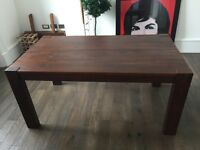 Rustic Solid Wood (Next Home) Dining Room Table for Sale