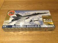 New, boxed AIRFIX McDonnell Douglas F-18A Hornet