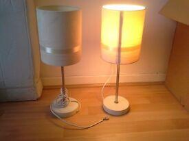 2 bedside lamp