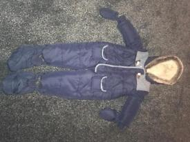Toddlers snow suit