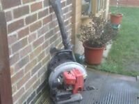 PETROL BLOWER WITH BACK PACK £30