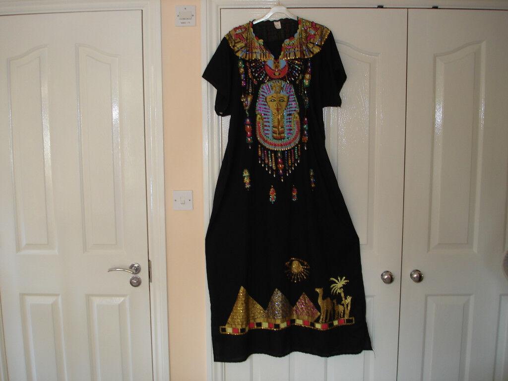 Long Egyptian design dress
