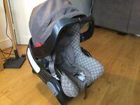 Graco junior newborn x baby seat