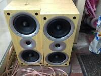 Acoustic solution speakers