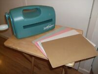 Spell binders cutting and embossing