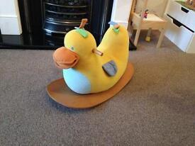 Baby rocking horse duck