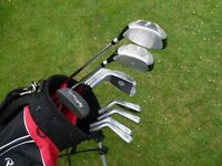 Full set of Mens Ryder ZX Pro golf clubs