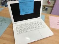 """Macbook A1342 13"""" 2010 Intel Core 2 Duo @2.4GHz 4GB 320GB HD £299"""
