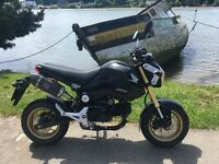 Honda Grom MXS 125 in good condition