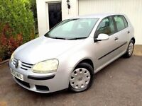 **1 PREV OWNER** 2005 VOLKSWAGEN GOLF S SDI REFLEX SILVER 2.0 MANUAL 5 DOOR