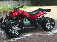 250cc road legal quad