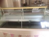 2m glass front display chiller cabinet
