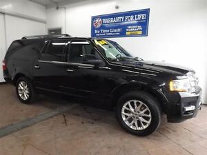 2015 Ford Expedition Max LIMITED 4X4 LEATHER NAV SUNROOF 20'S 8