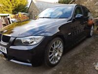 BMW 3 series 320i, 2L, M sport, Business edition, FSH BMW, 4 dr, black leather interior