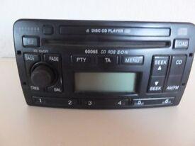 Ford Audio 6006E radio/6 Cd changer