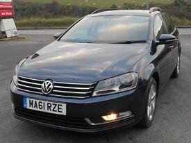 VW PASSAT 2.0 TDi S BLUEMOTION TECH ESTATE, 2011 '61, DIESEL, 6 SPEED, FSH, NEW CAMBELT, IMMACULATE