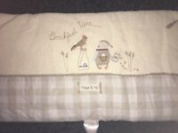 Cot number & nappy stacker set (Murphy & Me from Mamas & Papas)
