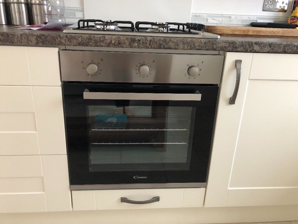 Unused Brand New Built In Electric Fan Oven Gas Hob And