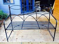 Antique Cast Iron Garden bench -