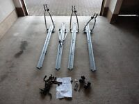 4 x Roof Bar Mounted Cycle Carriers