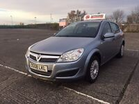 2008/08 Vauxhall Astra Life 16v in Silver