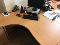 Office tables and other furniture - great condition, proceeds to charity!