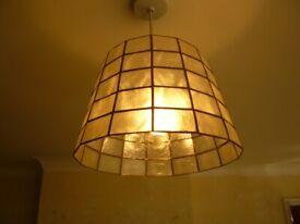 Tiffany style lampshade.