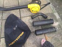Petrol blower - mcculloch 320bv