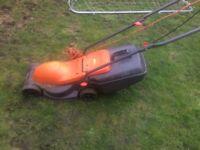 Lawn mower flymo