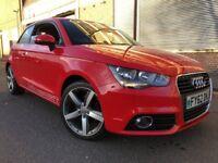 Audi A1 2013 1.6 TDI Sport 3 door 1 YEAR WARRANTY, 2 OWNERS, FSH, LOW MILES, ...